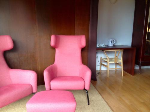 Doppel-/Zweibettzimmer mit Aussicht - Einzelnutzung Mont-Sant 30