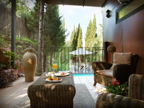 Suite mit privatem Pool - Einzelnutzung Mont-Sant 36