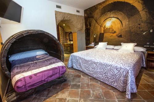Habitación Doble - 1 o 2 camas - Uso individual Hotel SPA Bodega El Lagar de Isilla 6