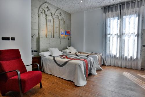 Habitación Doble - 1 o 2 camas - Uso individual Hotel SPA Bodega El Lagar de Isilla 5
