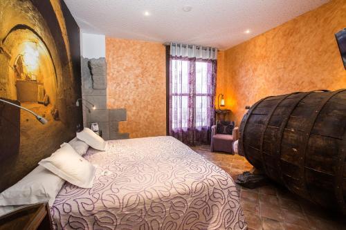 Habitación Doble - 1 o 2 camas - Uso individual Hotel SPA Bodega El Lagar de Isilla 4