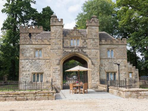 Kasteel-overnachting met je hond in Castle Gatehouse - Winchcombe