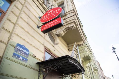 Bolshaya Morskaya Street 34, Saint Petersburg, Russia, 190000.