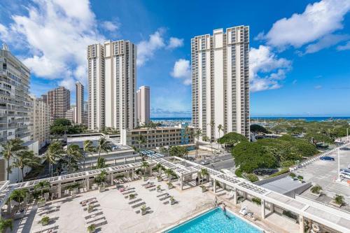 Ala Moana Hotel 0814 Studio Ocean - Honolulu, HI 96814
