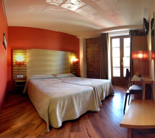 Habitación Doble - 1 o 2 camas Hotel Spa QH Centro León 2
