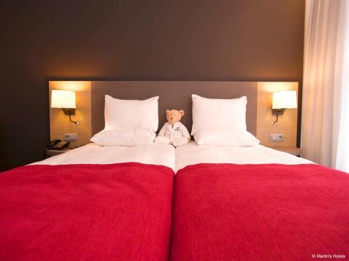Martin's Brugge Двухместный номер с 2 отдельными кроватями
