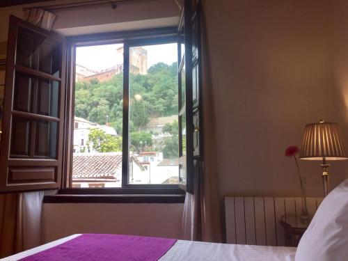 Habitación doble con vistas a la Alhambra - 1 o 2 camas Palacio de Santa Inés 52