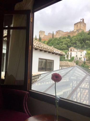 Habitación doble con vistas a la Alhambra - 1 o 2 camas Palacio de Santa Inés 51