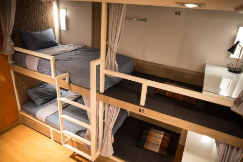 Large Bunk Bed in Mixed Dormitory Room