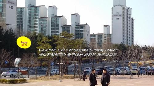 . Goyang City Ilsan Apartment