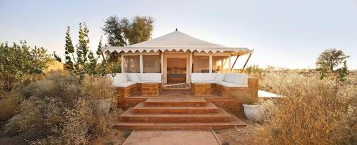 The Tents at Sujan The Serai Jaisalmer are one of the most unique places to stay in the desert