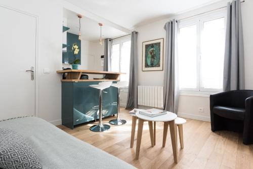 Montorgueil Studio - Petits Carreaux impression