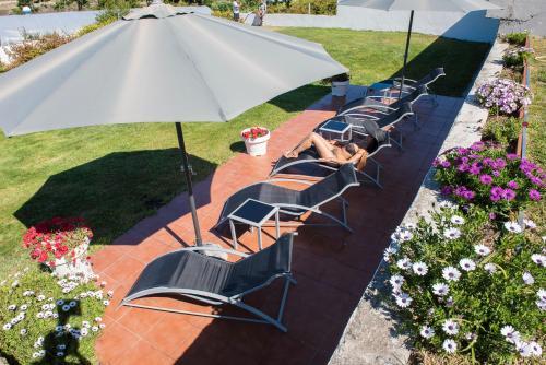 Doppel-/Zweibettzimmer mit Meerblick Hotel Naturaleza Mar da Ardora Wellness & Spa 48