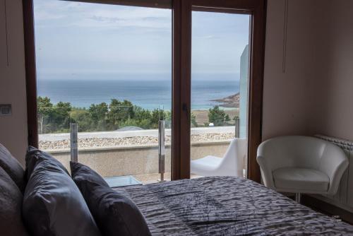 Double or Twin Room with Sea View Hotel Naturaleza Mar da Ardora Wellness & Spa 19