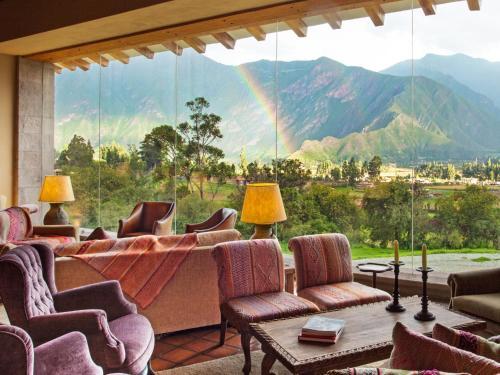 Km 63 of the Cusco-Urubamba-Pisac-Calca Highway, Sacred Valley of the Incas, Peru.