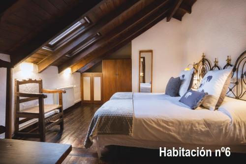 Doppel-/Zweibettzimmer mit Bergblick Hotel Santa Maria Relax 1