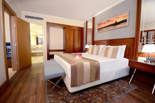 Akgun Istanbul Hotel istabas fotogrāfijas