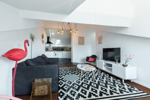 Carre d'or dernier etage - Apartment - Nice