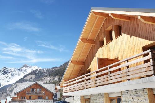 Résidence Odalys Le Crystal Blanc - Accommodation - Vaujany