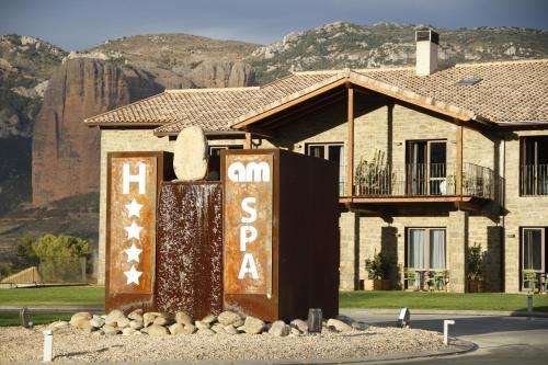 Duplex Room Hotel Spa Aguas de los Mallos 30
