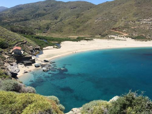 Achla, Andros, Cyclades, Greece.