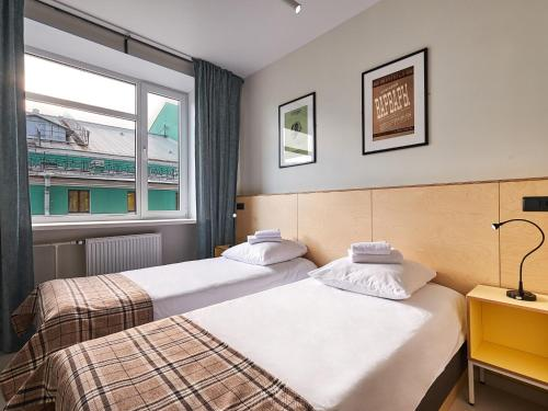 Друзья на Фонтанке Стандартный двухместный номер с 1 кроватью или 2 отдельными кроватями