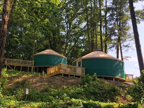 Circle M Camping Resort 16 Ft. Yurt 1 - Lancaster, PA 17603