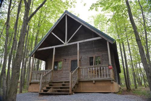 Appalachian Camping Resort Log Home 7 - Hamburg, PA 19554