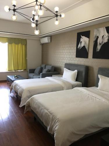 . Guangzhou Rui Si Bao International Apartment Nansha Wanda Square Branch