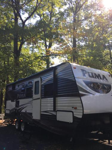 Amy's Little Camper Welcome To Stay