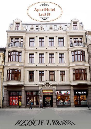 . Aparthotel Łódź 55 & Apartments