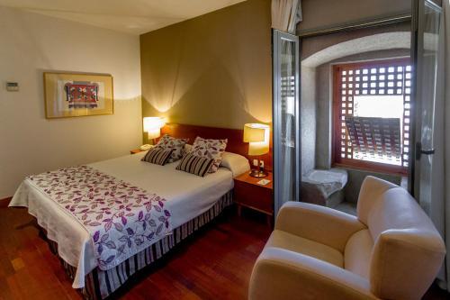 Doppel- oder Zweibettzimmer - Einzelnutzung Hospedería Puente de Alconétar 28