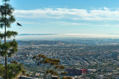 Best French Style Rooftop View In Hollywood Hills - Los Angeles, CA 90046