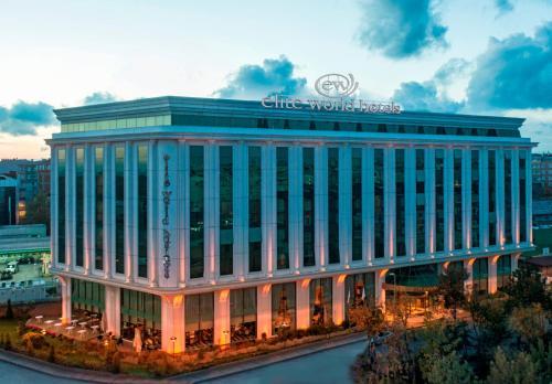 Istanbul Elite World Business Hotel harita
