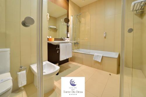 Hotel Spa Norat Torre Do Deza Oda fotoğrafları