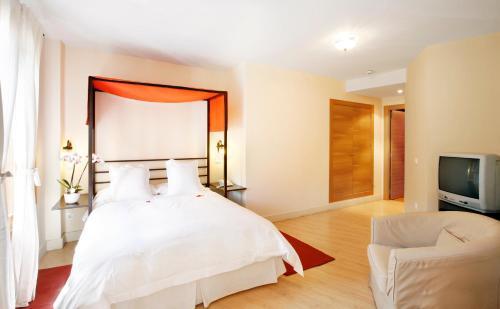 Doppelzimmer Hotel Rincon de Traspalacio 1