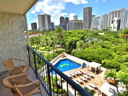 Ocean And City View Vacation Rental Suite At Luana Waikiki - Honolulu, HI 96815