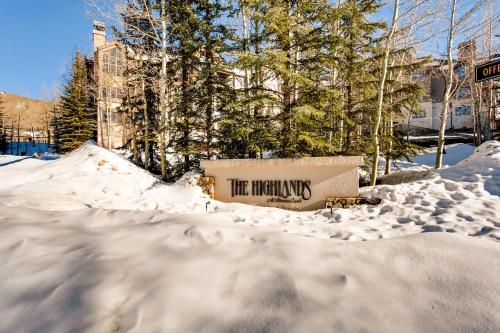 Highlands Lodge 106 - Beaver Creek, CO 81620