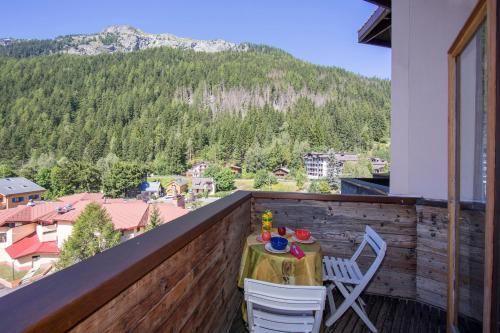 Grand roc 403 Campanules Chamonix