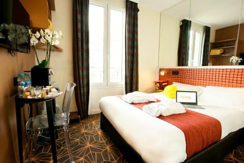Hotel Olympic by Patrick Hayat - Hôtel - Boulogne-Billancourt
