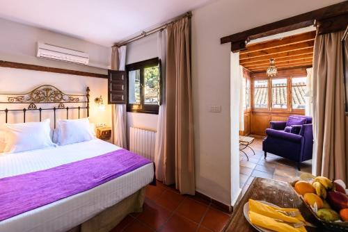 Doppel- oder Zweibettzimmer mit Blick auf die Alhambra Palacio de Santa Inés 19