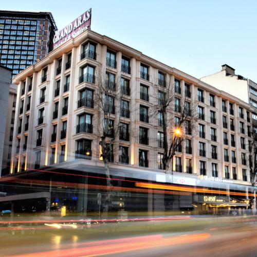 Istanbul Grand Aras Hotel & Suites rezervasyon