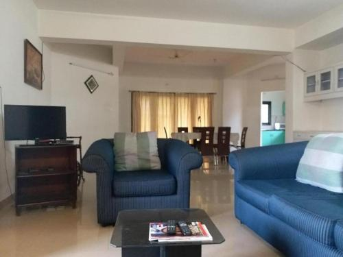 3 Bhk Furnished Apartment At Banjara Hills In India