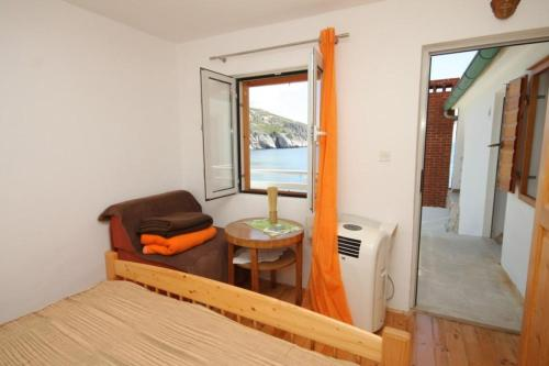 Triple Room with Balcony and Sea View