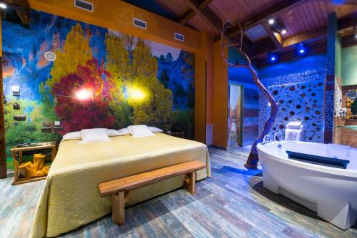 Junior Suite - single occupancy Hotel SPA Bodega El Lagar de Isilla 2