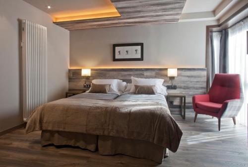 Habitación Doble - 1 o 2 camas Hotel La Neu 3