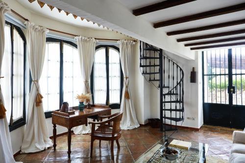 Habitación Doble Deluxe Hacienda de San Rafael 19