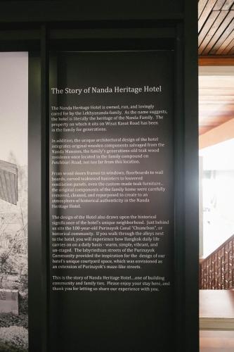 Nanda Heritage Hotel photo 20