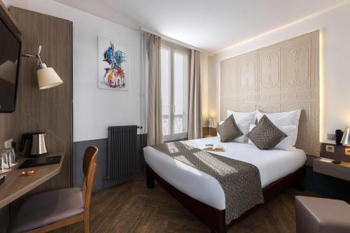 Contact Hôtel Alizé Montmartre - Hôtel - Paris