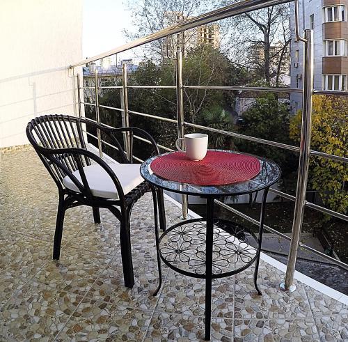 Apartments Barcelona-Park Апартаменты с видом на сад